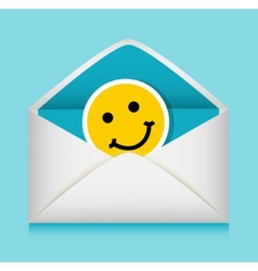 Message in an envelope vector