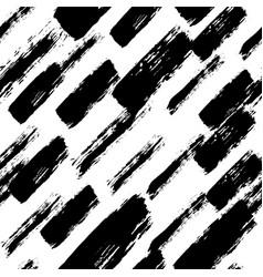 Painted pattern irregular brush strokes vector