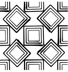 seamless abstract background hand drawn vector image