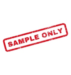 Sample only rubber stamp vector