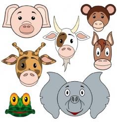 animals baby set vector image vector image