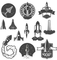 rockets2 vector image vector image