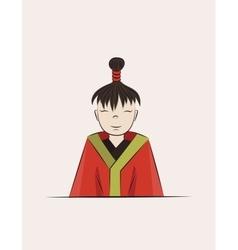 Boy of Japan vector