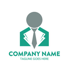 Businessman logo-8 vector