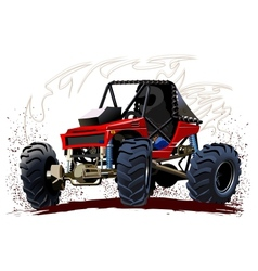Cartoon buggy vector