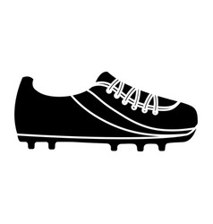 Cleat shoe football soccer icon image vector