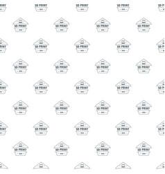 design 3d printing pattern seamless vector image