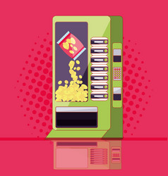Dispenser of chips machine electronic vector