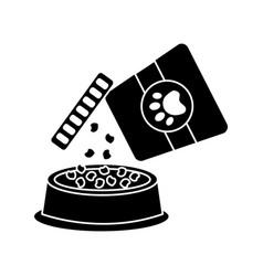 Food bowl pet icon image vector
