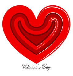 heart shaped candy valentine day vector image