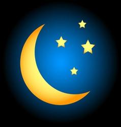 Moon symbol vector