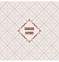 Seamless pattern decorative design vector