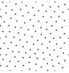 simple seamless polka dot pattern modern vector image