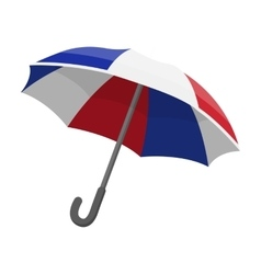 Umbrella icon in cartoon style isolated on white vector image