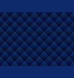 abstract dark blue squares pattern background vector image