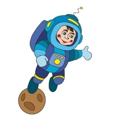 Astronaut planet vektor vector