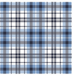 Blue white plaid pattern graphic vector
