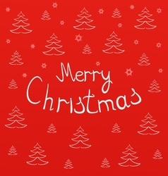 Christmas cardchristmas lettering vector