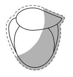 Faceless head of man icon image vector