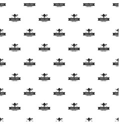 jurassic history pattern seamless vector image