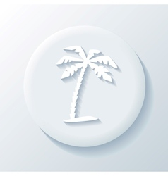 Travel 3D Paper Icon vector