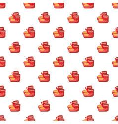 baby socks pattern vector image