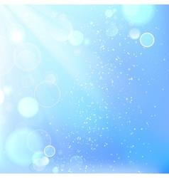 Beautiful winter background vector image vector image
