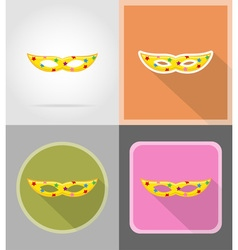 celebration flat icons 11 vector image vector image