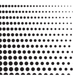 Halftone dots on white background vector