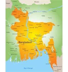 Bangladesh vector image vector image