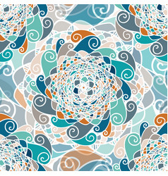 abstract seamless boho ethnic pattern vector image