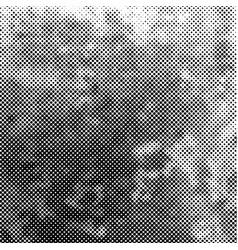 distress halftone background vector image