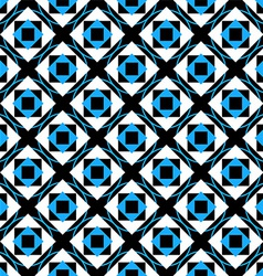 Geometry cute seamless pattern vector image
