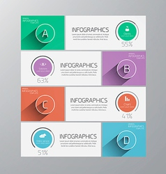 Infographics flat design 2 vector