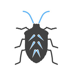 Insect crawler beetle vector