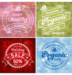Label design vector