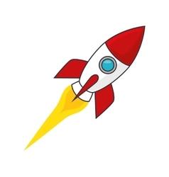 Rocket space transportation vehicle vector