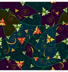 Seamless pattern with clover leaves for stPatricks vector image