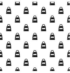 shopping bag pattern seamless vector image