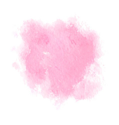 soft pink powder color watercolor background vector image