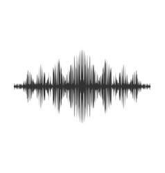 Voice soundwave sound wave icon vector