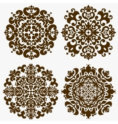 Mandala Ornamental pattern vector image vector image