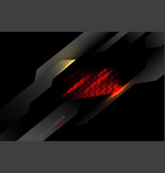 Red light metal surface scene vector