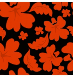 red seamless pattern vector illustration vector image