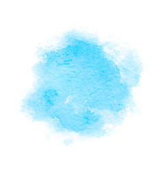 colorful abstract background soft blue watercolor vector image
