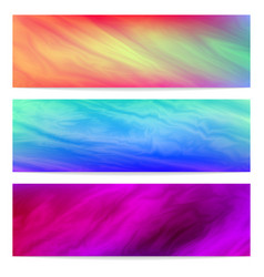 colorful bright banners vector image
