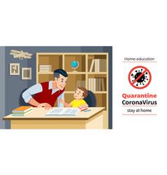 coronavirus covid19-19 quarantine motivational vector image