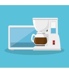 home appliances set icons vector image
