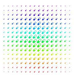 Medication granule shape halftone spectrum pattern vector
