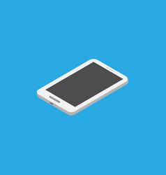 phone icon isometric style eps10 vector image